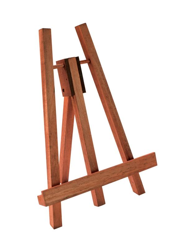 A4/A5 Easel - Red Mahogany