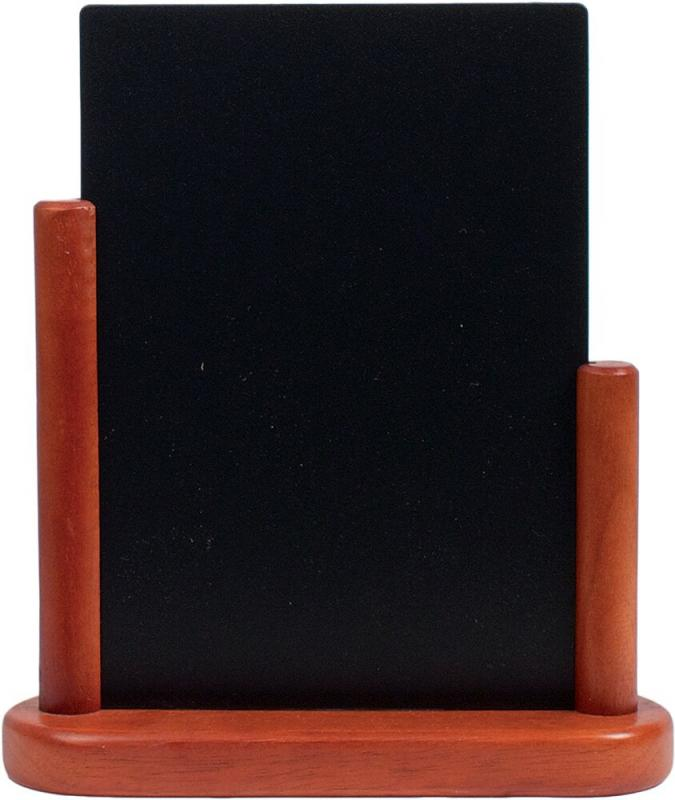 Elegant med. table chalkboard, Wood with lacque...