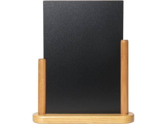 Elegant large table chalkboard, Wood w lacquere...