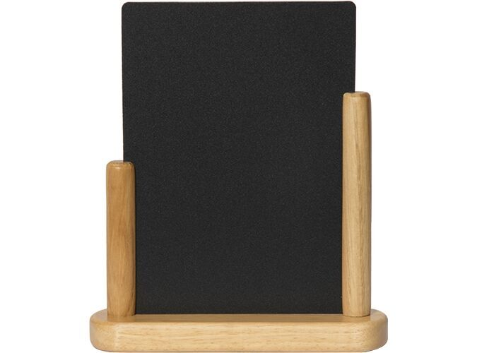 Elegant medi. table chalkboard, Wood w lacquere...