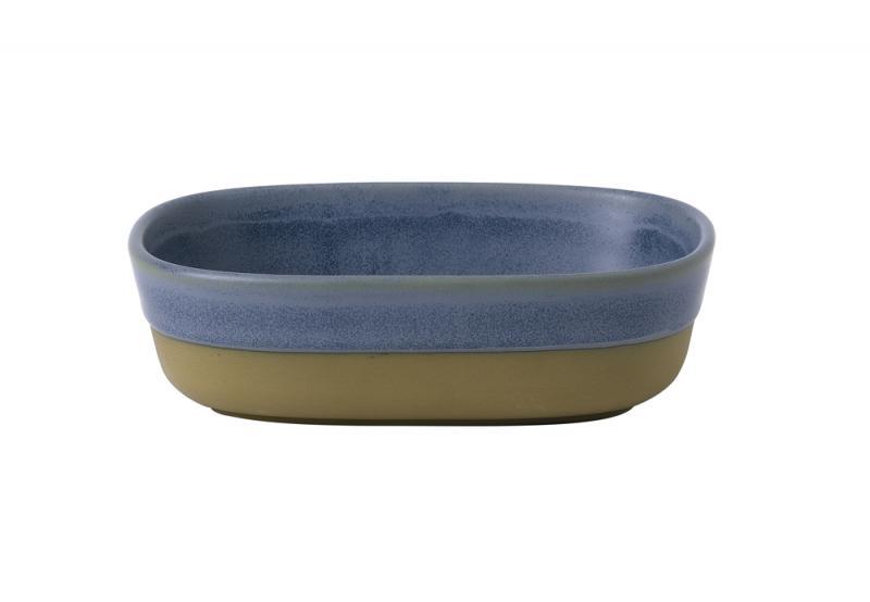 Emerge Oslo Blue  Dish 17X12X5Cm Box 6