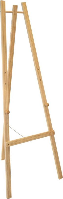 Easel stand w lacquered beech finish 165cm. For...