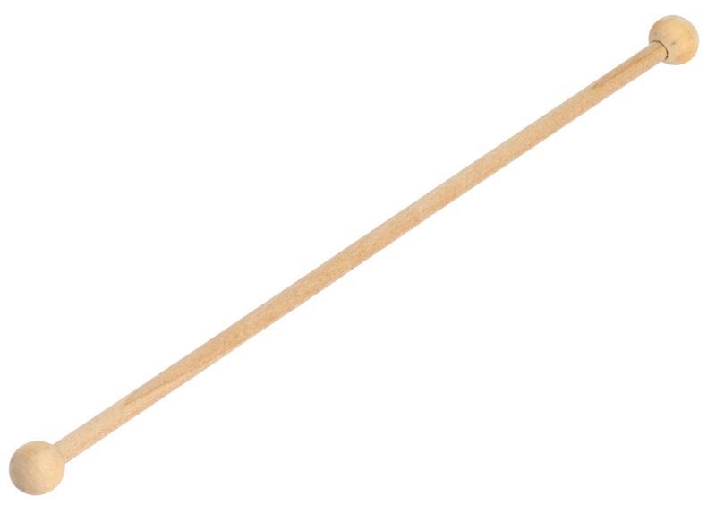 "Wooden Ball Stirrer 7"" (18cm)"