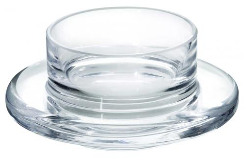 "Glass Base for Butter Dish 3.5"" (9cm) 1oz (3cl)-6"