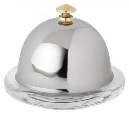 "Stainless Dome for Butter Dish 3.5"" (9cm) - 6"