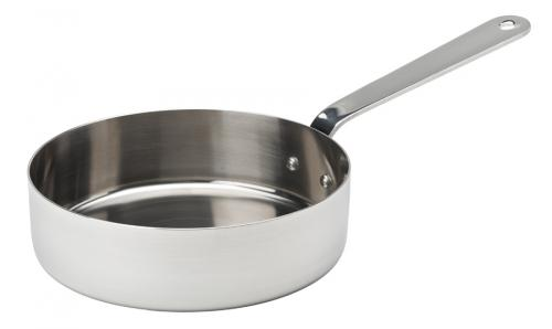 "Stainless Steel Presentation Frypan 4.75"" (12cm) 12.75oz (36cl) - 6"