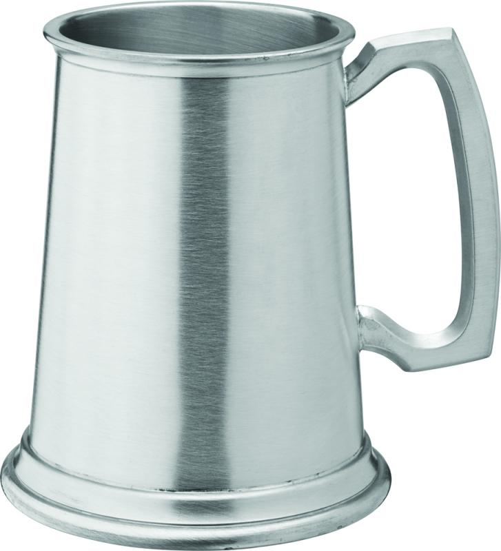 Albany Brushed Pewter Tankard 20oz (58cl) CE1