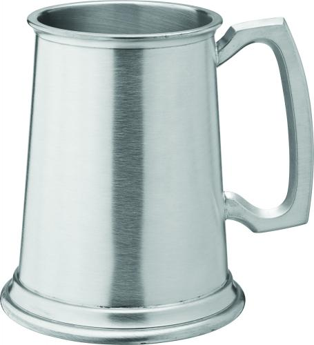 Albany Brushed Pewter Tankard 20oz (58cl) CE