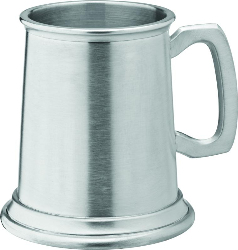 Albany Brushed Pewter Tankard 10oz (28cl) CE