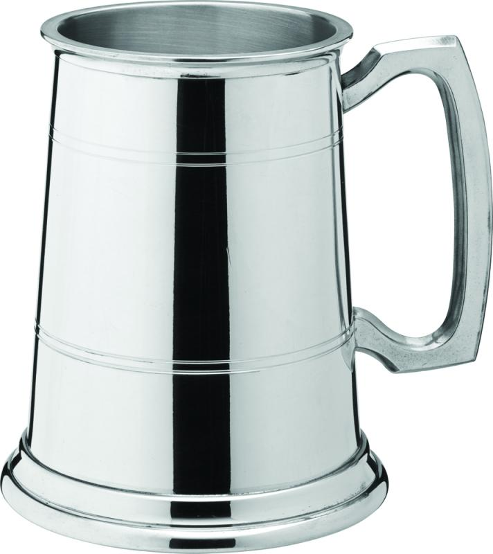 Albany Polished Pewter Tankard 20oz (58cl) CE-1