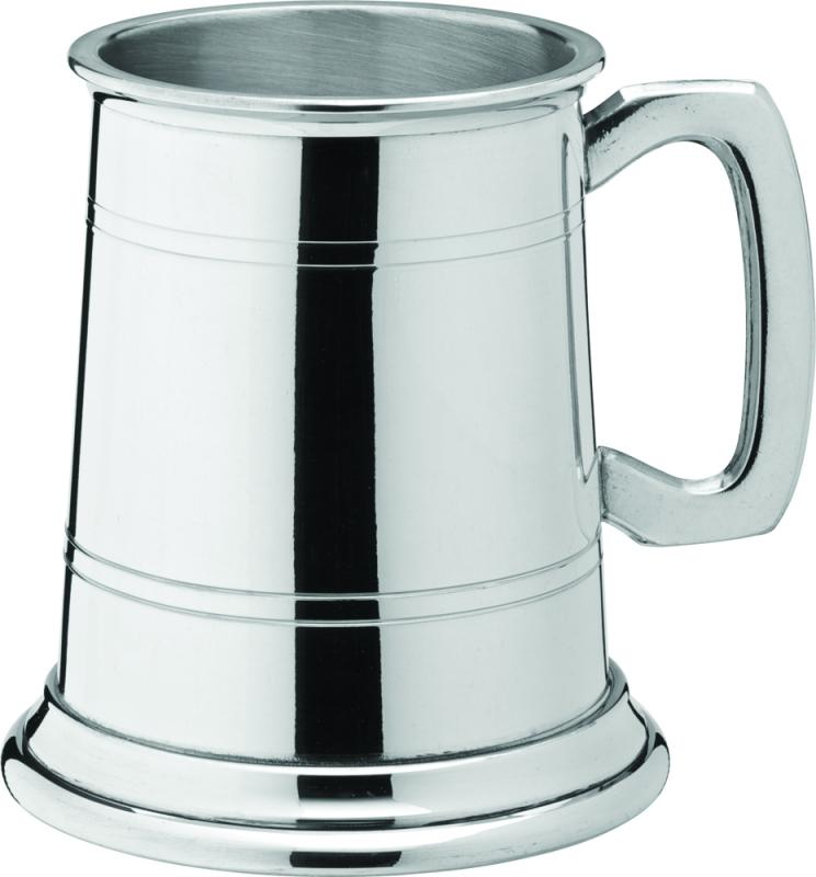 Albany Polished Pewter Tankard 10oz (28cl) CE-1
