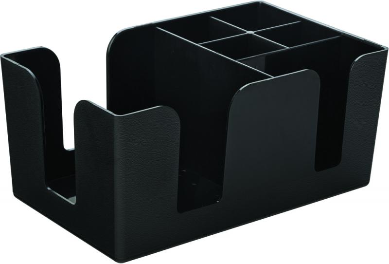 "Bar Caddy Black 9.5 x 5.75"" (24.5 x 15cm)-12"