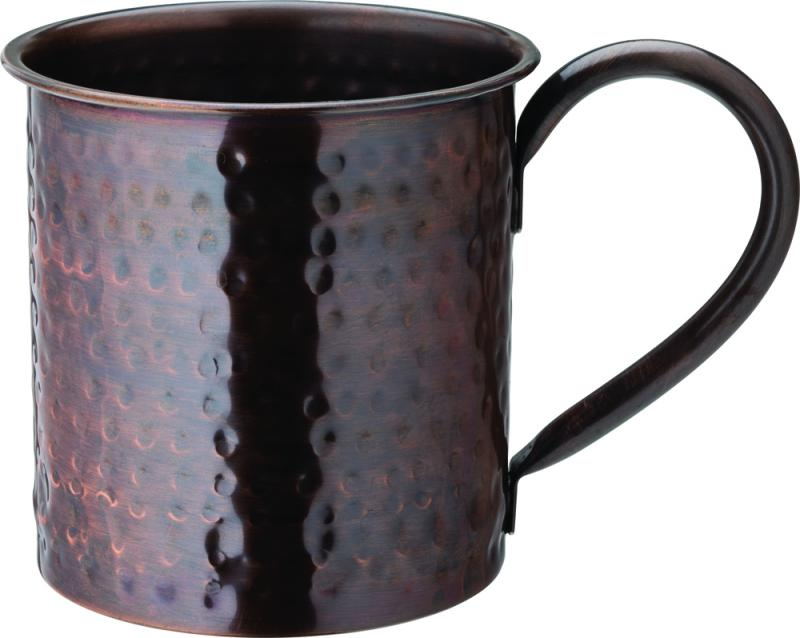 Aged Copper Hammered  Mug 19oz (54cl)