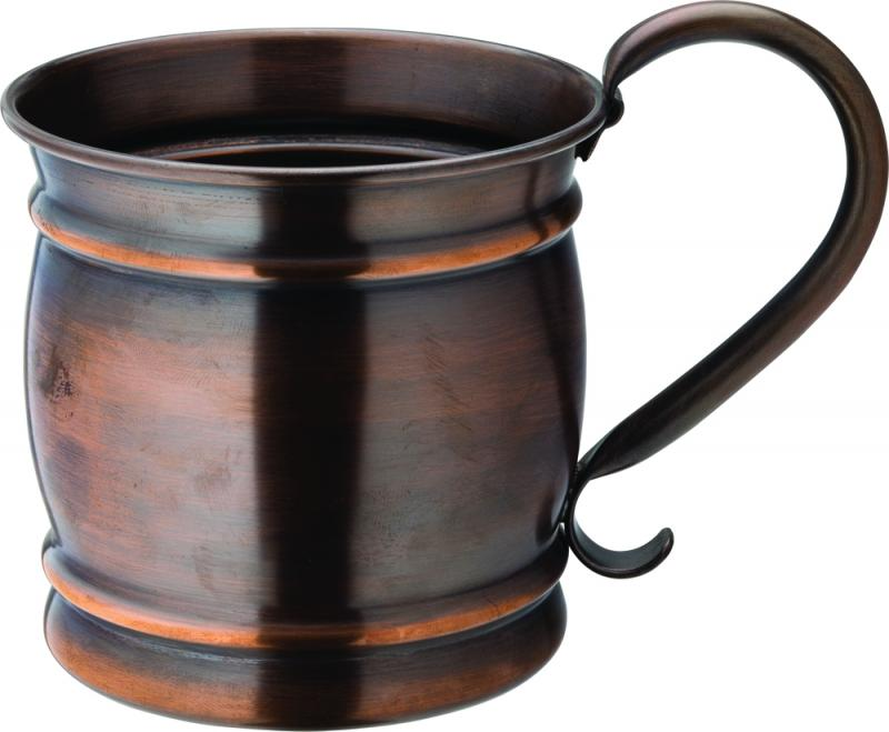 Aged Copper Barrel Mug 19oz (54cl)