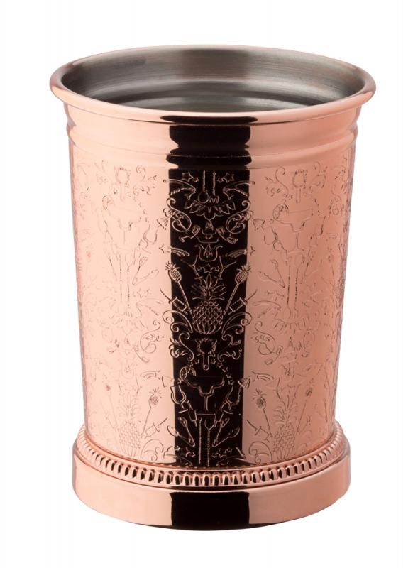 Chased Copper Julep Cup 12.75oz (36cl)