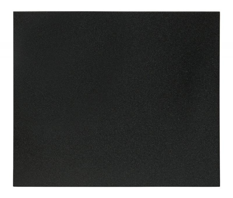 Securit® Silhouette square chalkboard - including chalkmarker and self adhesive mounting strips