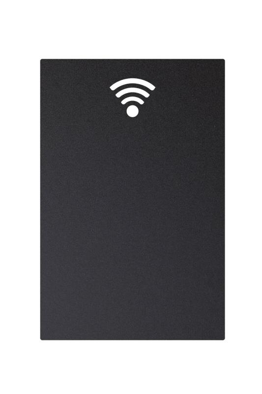 Securit® Silhouette wifi chalkboard - including chalkmarker and self adhesive mounting strips