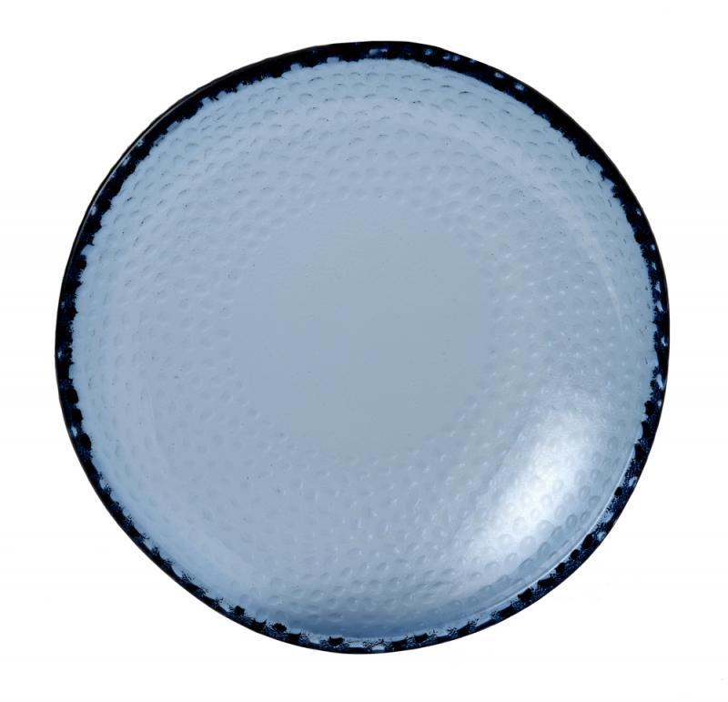 "Isla Organic Glass Trace Bowl 8 1/4"" Box 6"