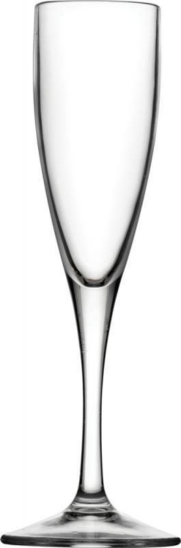 Champagneglas i plast 14 cl