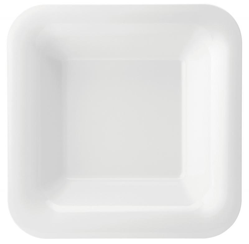"Melamine Square Deep Plate 14"" (35.5cm)6"