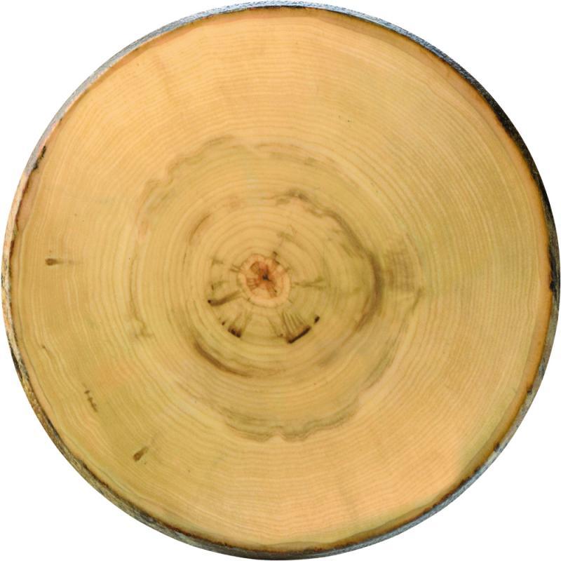"Elm Footed Round Platter 13.5"" (35cm)2"