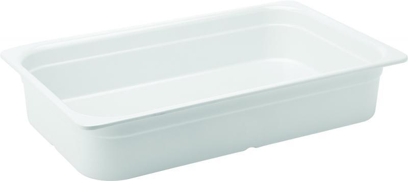 """Melamine White GN 1/1 - 4"""" (10cm)  Deep"""