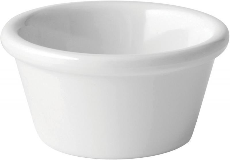 Dippskål melamin 6cl vit