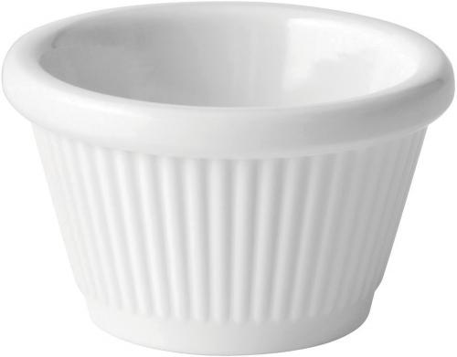 Fluted White Ramekin 1oz (3cl) - 12