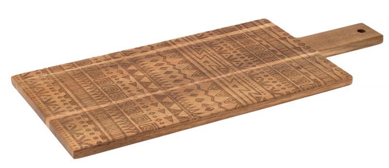 Tribal Handled Wood 50 x 22cm6