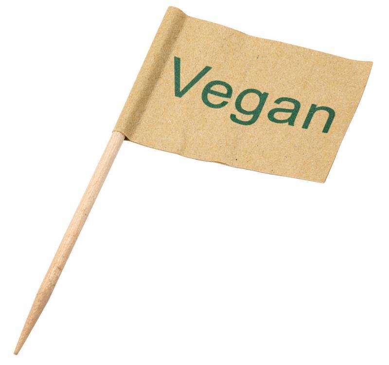 Vegan Flag Skewer 9cm1000