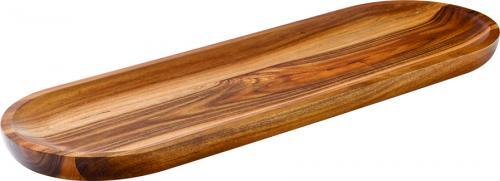 "Acacia Wood Serving Board 17 x 5.5"" (42 x 14cm)-6"