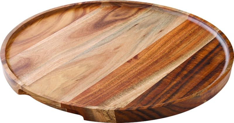 "Acacia Wood Platter/Pizza Board 12"" (30cm)-6"