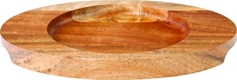 "Oval Wood Board 8.5 x 6.25"" (22 x 16cm)6"