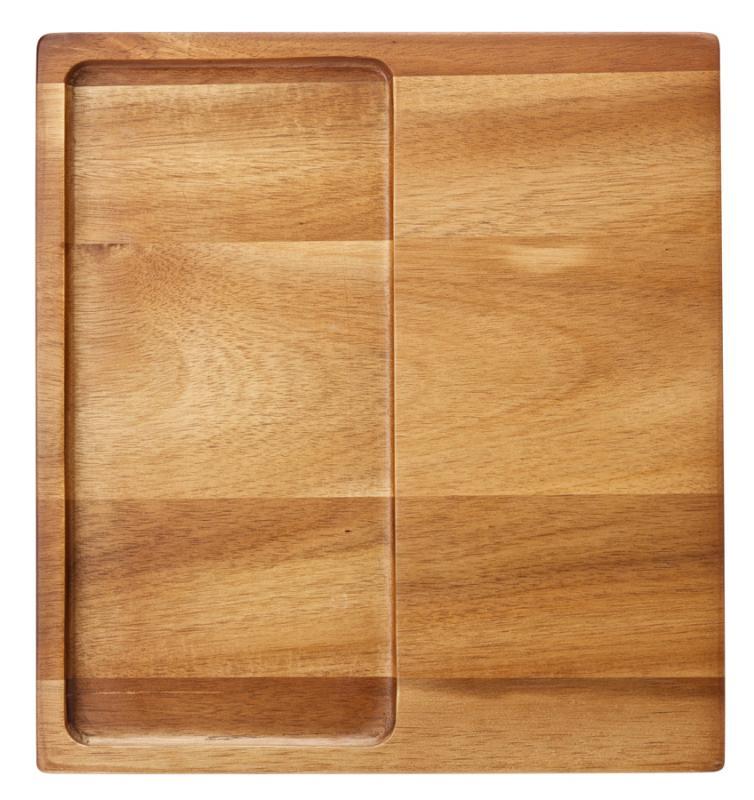 """Acacia Presentation Board 11 x 12"""" (27.5 x 30cm)"""