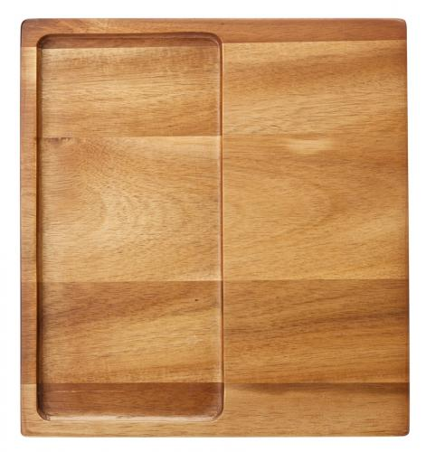 """Acacia Presentation Board 11 x 12"""" (27.5 x 30cm)6"""