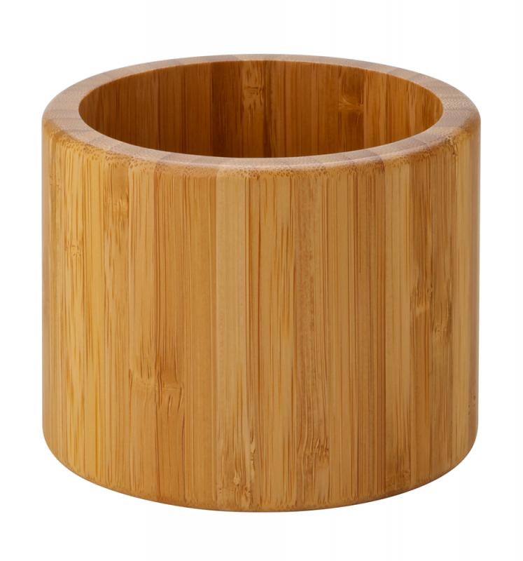 "Set of 3 Bamboo Riser/Display Bowl - Heights: 6, 4.75, 3.5"" (15, 12, 9cm), Width: 6.75, 5.5, 4.5"" (17, 14, 11.5cm)1"