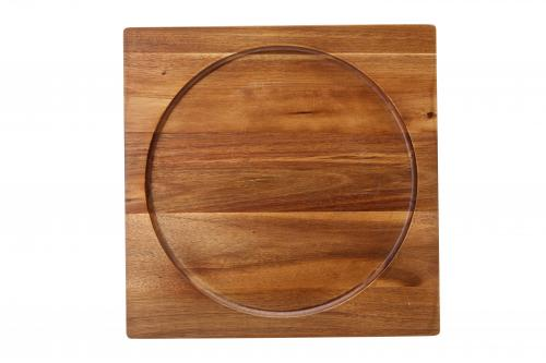 "Acacia Presentation/Pizza Board 12"" (30cm) - fits K162928-6"