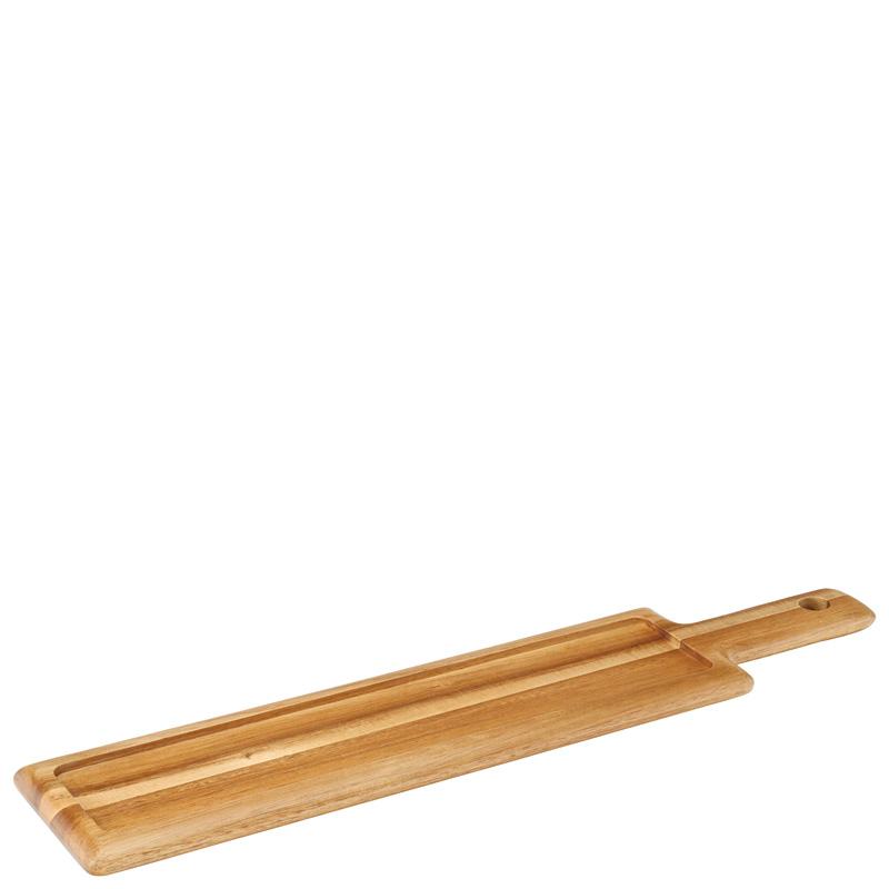 "Acacia Handled Board 17 x 4.75"" (43 x 12cm)"