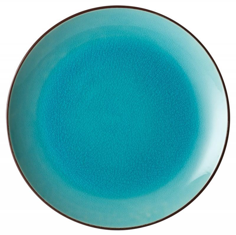 "Aqua Coupe Plate 10.5"" (26.5cm)"