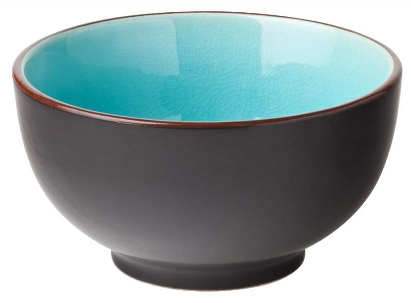 "Aqua Rice Bowl 4.75"" (12cm) 11.5oz (33cl)"