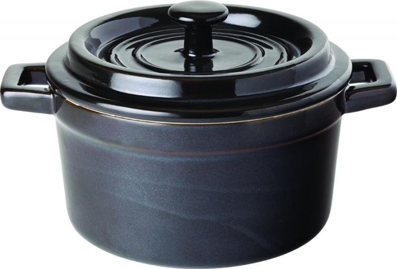 "Midnight Round Casserole 5.5"" (14cm) 27.5oz (79cl)6"