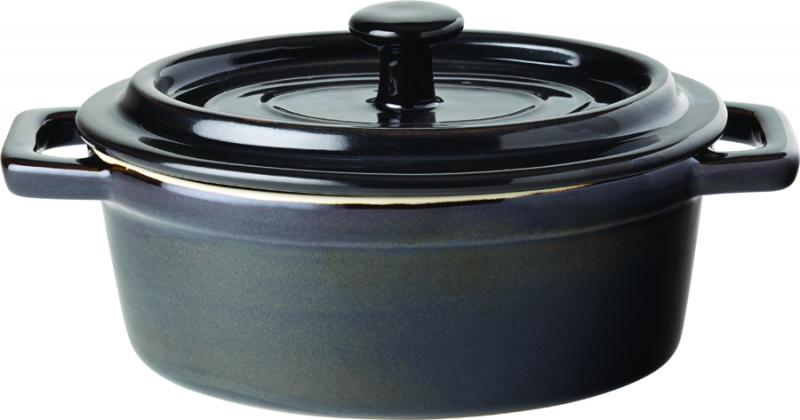 "Midnight Oval Casserole 6"" (15cm) 17oz (48cl)6"