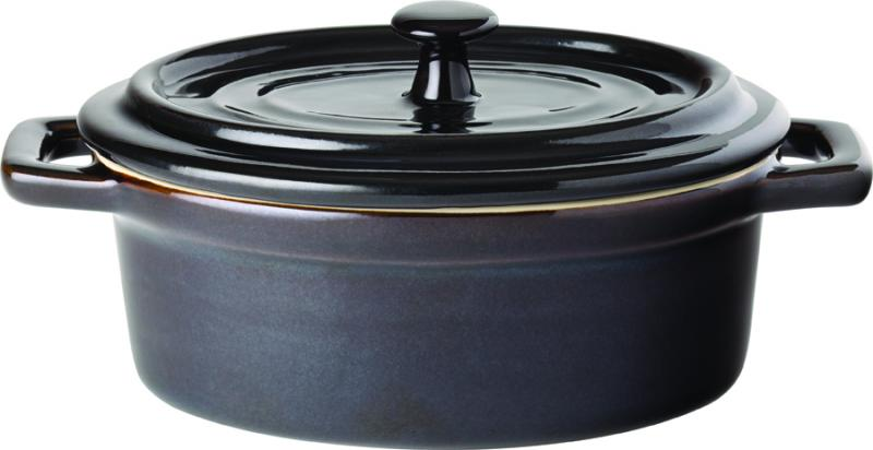 "Midnight Oval Casserole 5"" (13cm) 12.5oz (35cl)6"