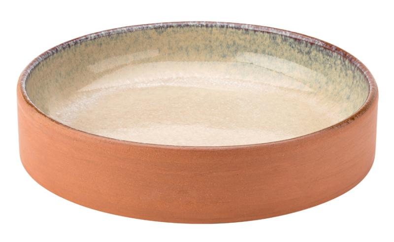 "Karma Terracotta Bowl 9.75"" (24.5cm)6"