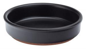 """Black Tapas Dish 5.5"""" (14cm)-24"""