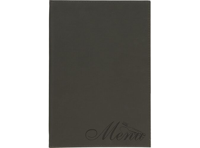 Securit® Design velvet menu holder - (1 double insert included, which displays 4x A4) - A4