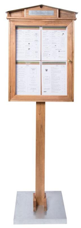 LED Information display, acrylic black, table s...