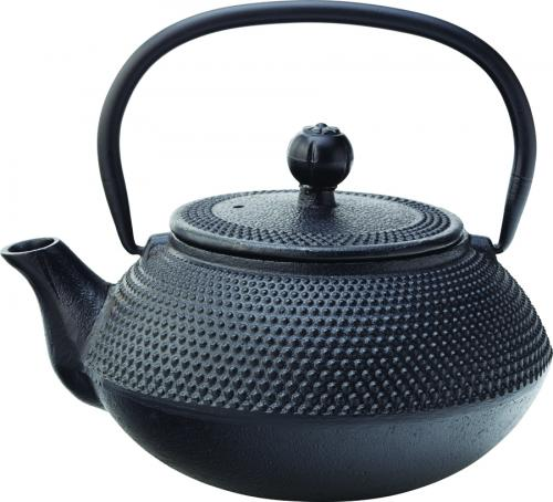Mandarin Teapot Black 24oz (67cl) - with Infuser-6