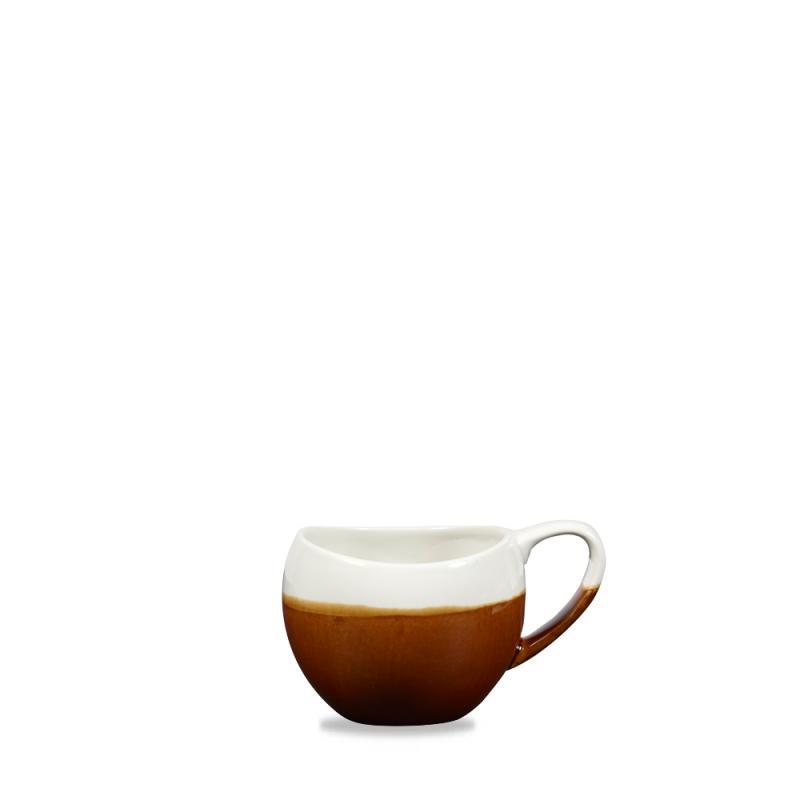 Monochrome Cinnamon Brown Bulb Mug 10.5Oz Box 6