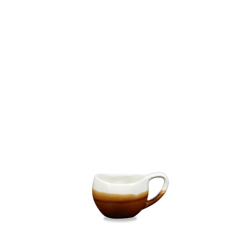Monochrome Cinnamon Brown Bulb Mug 2.5Oz Box 6